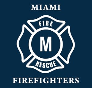 Firefighter Maltese Cross logo